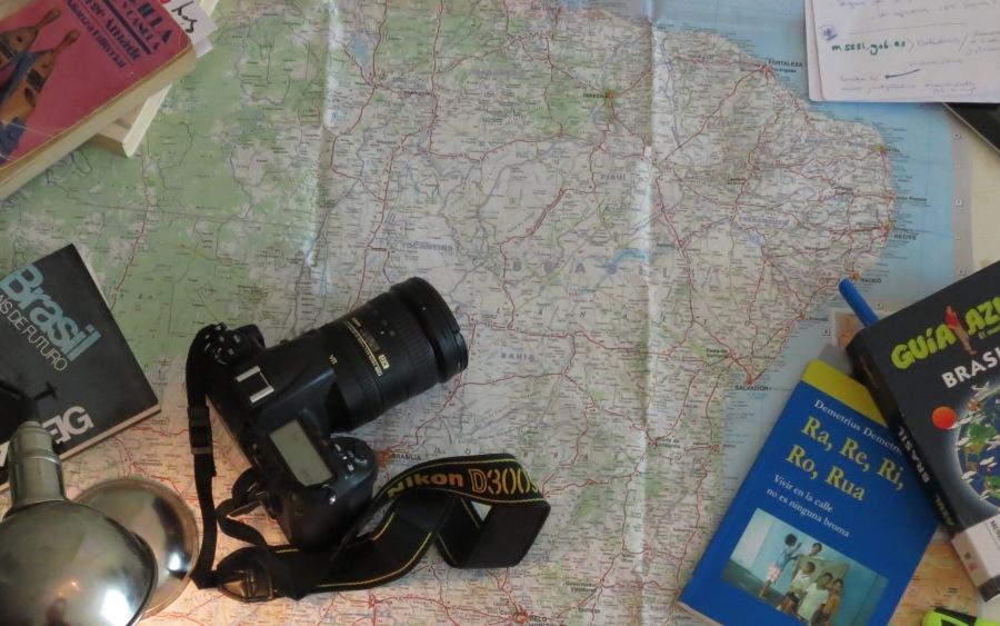 Preparativos para el viaje a Brasil